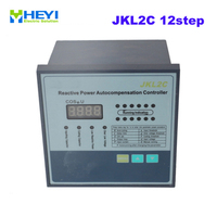 JKL2C with power supply 220v 12 steps Reactive power automatic compensation controller