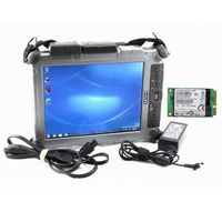 Best quality Rugged Tablet for Xplore Ix104 I7&4g Diagnostic Laptop installed well with mb star c4 software V2019.12 mb c5 star