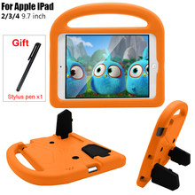 Caso da tabuleta para o ipad 2/3/4 crianças eva capa para apple ipad 2 3 4 9.7