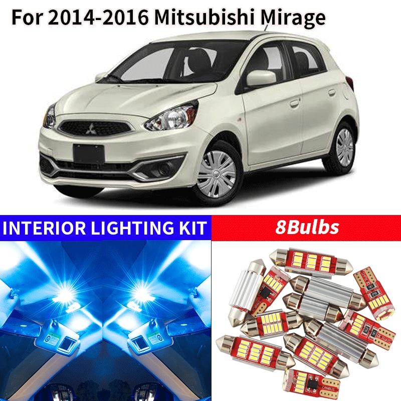 7x White LED COB Xenon Lights Interior Package Kit for 2011-2012 Ford Explorer