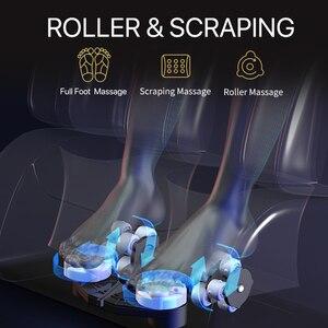 Image 4 - Jare R5 2C pelota de amasar automática Shiatsu, silla de masaje 4D para el cuidado del hogar con calefacción por gravedad, nuevo diseño barato