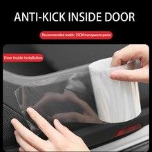 Скотч-лента для двери, анти-столкновения, невидимая, универсальный тип, защита от царапин, пленка для кузова, клейкая, автомобильная, против царапин