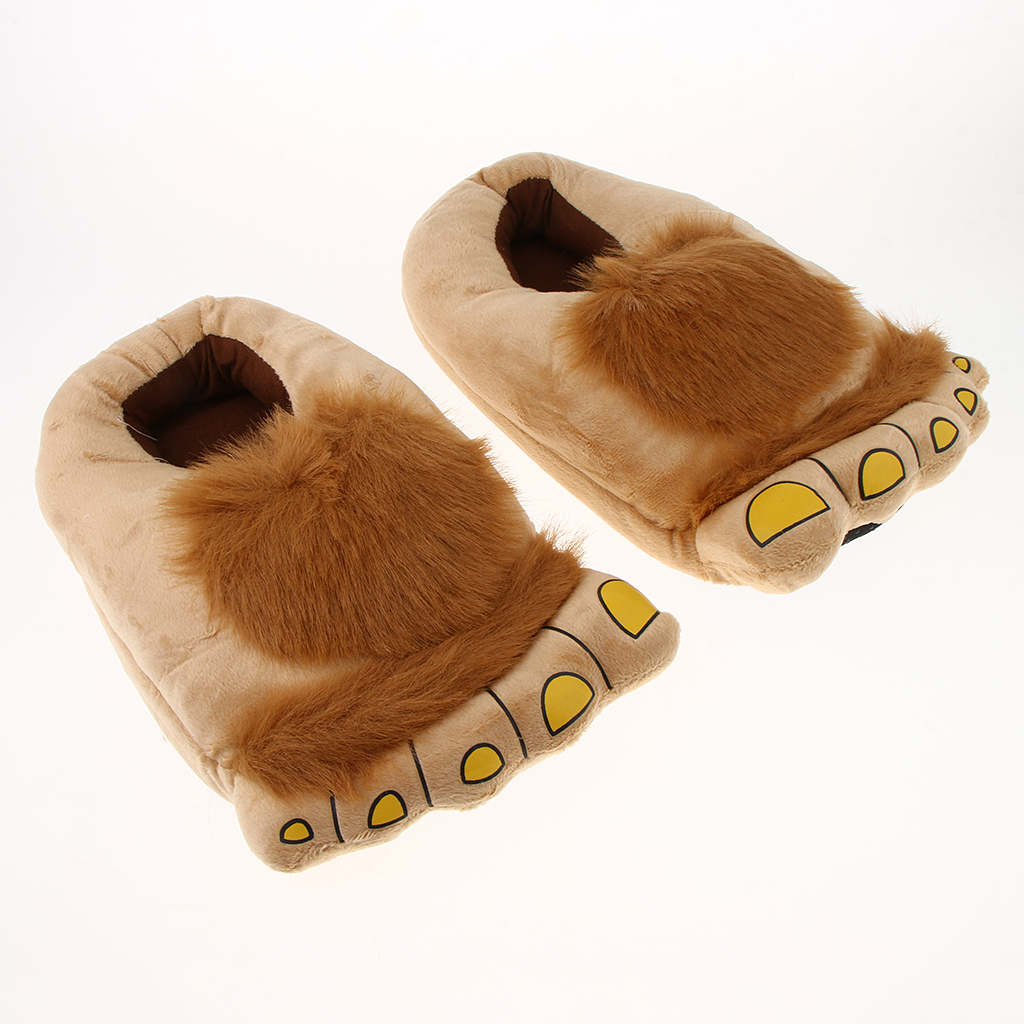 Furry Monster Slippers 2