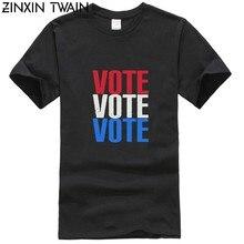 Votazione votazione 2018 us intermedia elezioni trimestre camicia-voto t camisa-medio