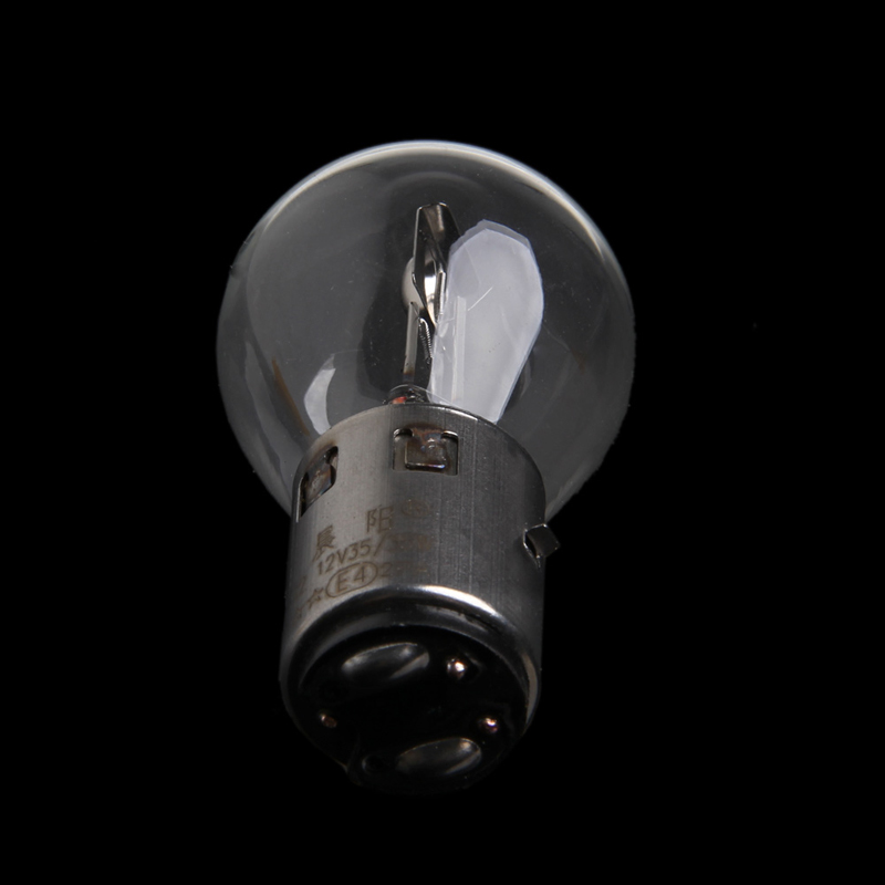 ATV Moped Scooter Head Light Bulb Motorcycle 12V 35W 10A B35 BA20D Glass New Y98C