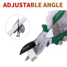 TUOSEN 90 degree woodworking angle shear Metallic Multi-function Tube Pipe Plastic Handyman Easy Shears Multi-Angle Anvil Window