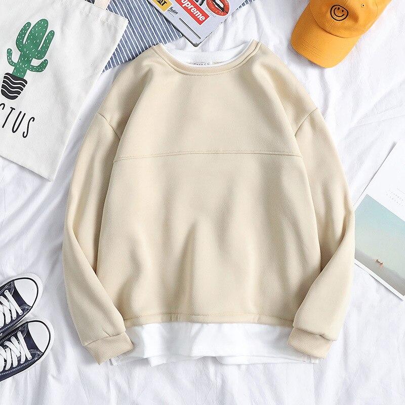 2020 Print sweatshirt Men Cotton Tees Tops Hip Hop Streetwear Male Man Clothing Summer Casual Mens pullover plus size