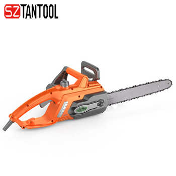 New Arrival 16 Inch AC Chainsaw Professional Electric Chain Saw 220V 10Amp with Kickback Safety Brake Auto Lubricate By Tantool - DISCOUNT ITEM  55 OFF Tools