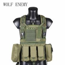 Tactical-Vest RRV Woodland Airsoft Black Tatico Green Nylon CP ACU Colete 600D Tan-Od