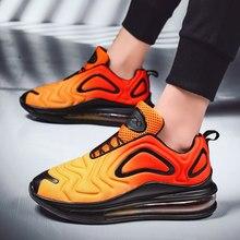 Кроссовки мужские с воздушной подушкой, удобная спортивная обувь для бега, для влюбленных, 36-47