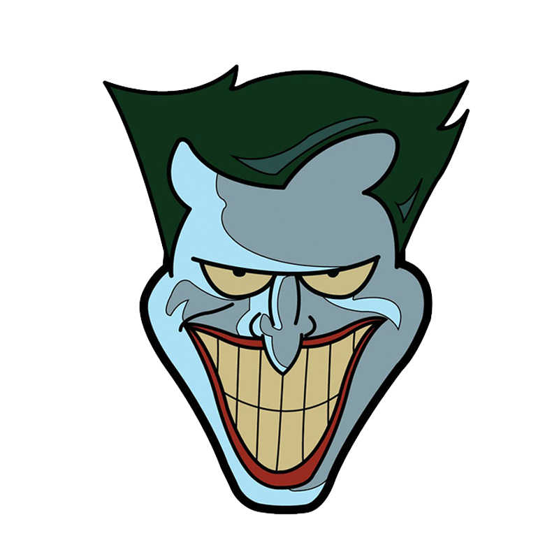 Joker Joaquin pin distintivo