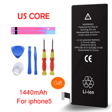 купить QrxPower High Quality Real Capacity 1440mAh Replacement Li-ion Battery With Tools For Iphone 5 0 Cycle 1 Year Warranty по цене 468.29 рублей
