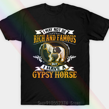 I May No Be Rich And Famous Bu I Have A Gypsy Horse Unisex T-shirt Sweamask
