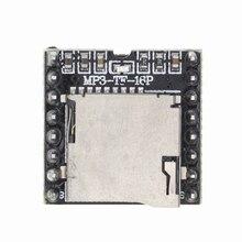 50pcs  Mini MP3 Player Module TF Card U Disk Mini MP3 Player Audio Voice Module Board