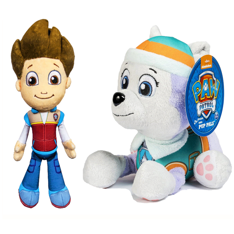 New Paw Patrol Dog Plush Toy Psi Pat Pat Patrouille Paw Patrol Plush Toy Puppy Paw Patrol Toys Set Birthday Christmas Gift