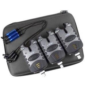 Электронные инструменты для морских полюсов, аксессуары для карпа, сигнализация от укуса, анти-ударный аккумулятор, водонепроницаемый свет...