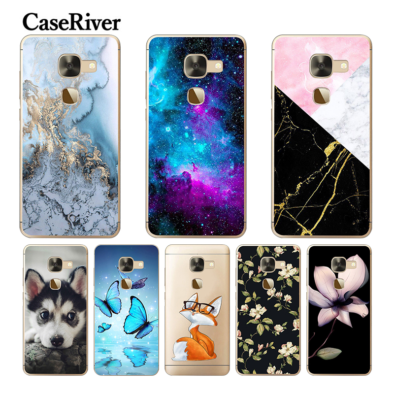 "CaseRiver Soft Silicone 5.5"" For Leeco Le S3 X626 Case Cover Phone Back Protective TPU For Letv 2 / Letv Leeco Le 2 Pro Case"