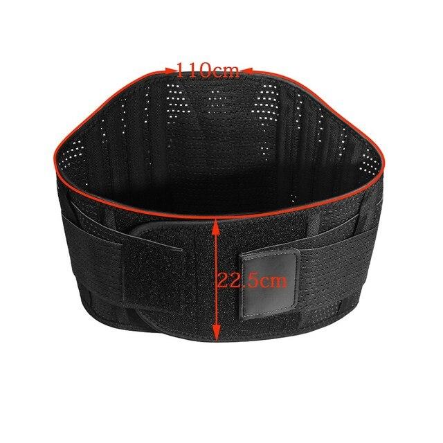 Sport Waist Support belt Weightlifting Protective Gear Waist Fitness Beltback Belt Neoprene waist trimmer fitness sweat belt 3