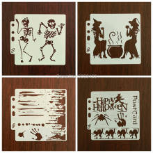 Masking-Spray-Template Stencil Scrapbooking Embossing-Painting-Wall Halloween-Card Stamping
