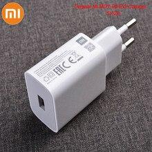 MDY 09 EW Original Xiao Mi USB Charger 5 V/2A EU อะแดปเตอร์ USB 3.0 ประเภท C สำหรับ Mi 5 6 8 9 สีแดง Mi หมายเหตุ 7 8 Pro F1 A2 A3 Lite
