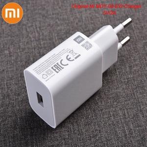 Image 1 - MDY 09 EW Original Xiao mi USB Ladegerät 5 V/2A EU Adapter mi cro USB Daten Kabel Für mi 4 rot mi S2 4 4X 4A 5 5A 6 6A Hinweis 3