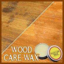 Деревянный воск для ухода твердый деревянный воск питательный алюминиевый консервированный твердый дерево обслуживание масло ламинат воск уход лак пол 20 г/200 г