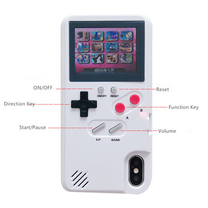 Image 4 - Colorful Screen Gameboy GB Game Tetris Case For Iphone 7 Case Iphone Xs Max Case 6 6s 7 8 Plus X XR 7plus 8plus Phone Case