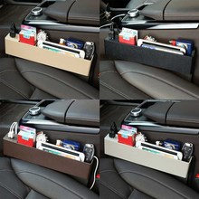 Car Front Seat Gap Filler Organizer CE Certificated 2 Port USB Charger For Cell Phone Mobile Holder Auto Interior Accessories