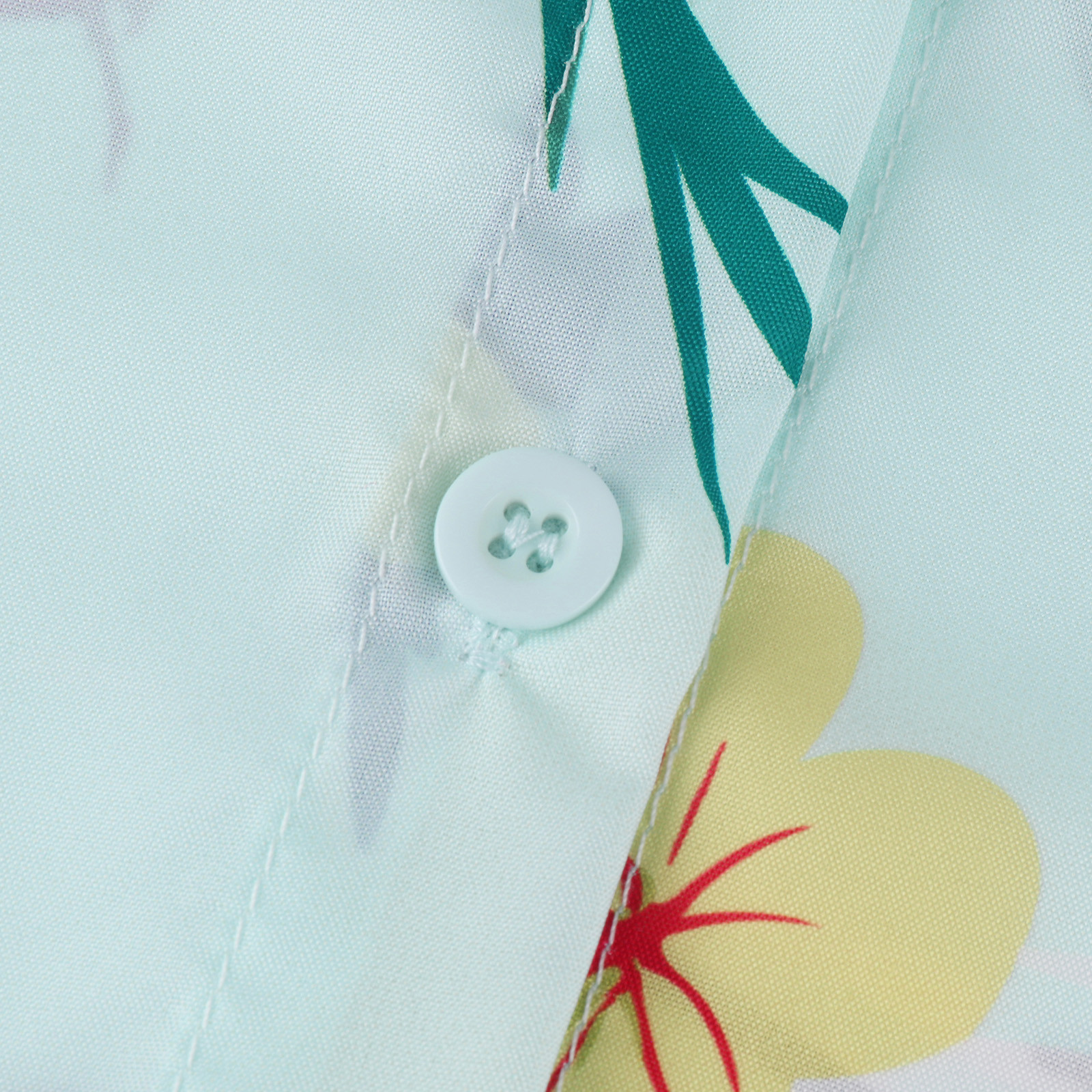 Bohemia Vintage Shirts Women Flower Printed Long Sleeve Casual Shirt Chiffon Button Blouse Summer Femme Tops Blusa