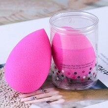 Wasser Tropfen Form Kosmetische Puff Make-Up Schwamm Kosmetik Powder Foundation Concealer Creme Machen Up Mixer Gesicht Foundation 1 stücke