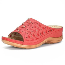 Summer Women Sandals Rome Retro Slippers Thick Bottom Beach Shoes Female Open Toe Comfortable Plarform Sandalias Mujer 2020