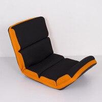 Cadeira de assoalho ajustável sofá dobrável sofá de seis posições multiangle cadeira preguiçoso almofada macia tatami dobrável cadeira de estar reclinável|floor chair|adjustable floor chair|floor chair folding -