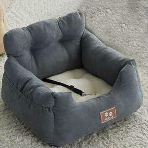 Super Comfortable Velvet Fleece Car Dog Bed Pet Bed Cat Nest Cat Dog Non-slip Cotton Material 11