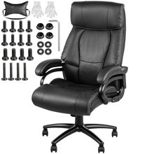 VEVOR Executive Chair High Back Office Chair Adjustable Swivel Executive Office Chair with Headrest Reclining Computer Chair
