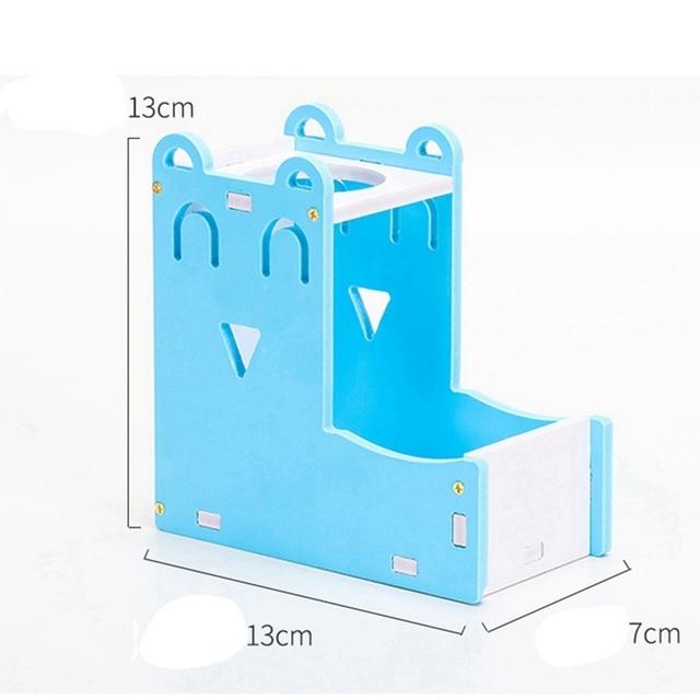 Small Pet Water Bottle Holder Hamster Rabbit Food Feeder Dispenser Nest Toy Drinking Water Distributor For Hamster Rabbit 5