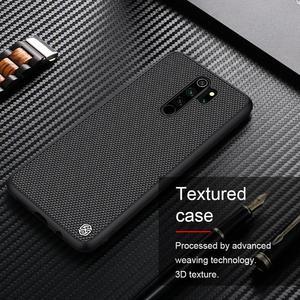 Image 3 - Pour Xiaomi Redmi Note 9 8 Pro Ma Note 9s boîtier Nillkin texturé Nylon fibre couverture antidérapant étui pour Xiaomi Mi Note 10 Lite