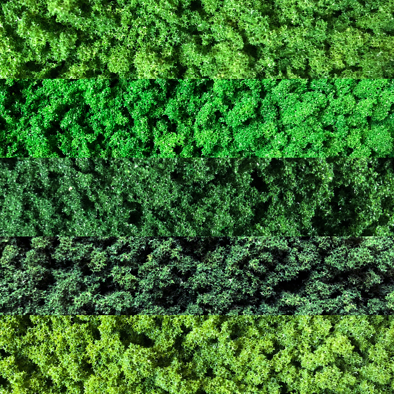 25g Sample 3-5mm Coarse Ground Foam,model Tree Foliage,scale Model Building Materials Miniature Tree Models DIY Hademade Layout
