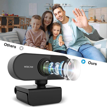 1080P/720P Webcam Conference USB Para PC Web Camera With Mic Interface With For Video Calling Network Teaching Office Meeting 2