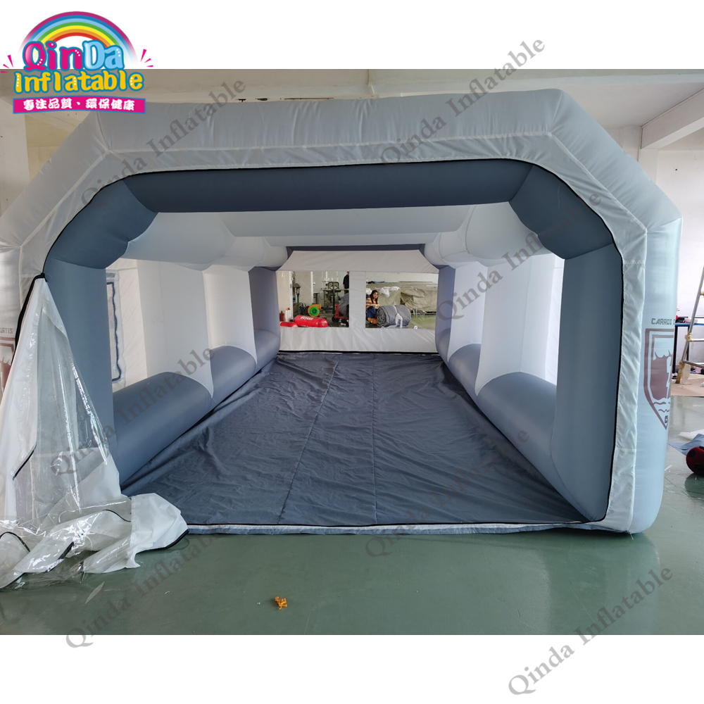Free Shipping Inflatable Car Spraying Painting Tent Inflatable Paint Spray Booth With Filter
