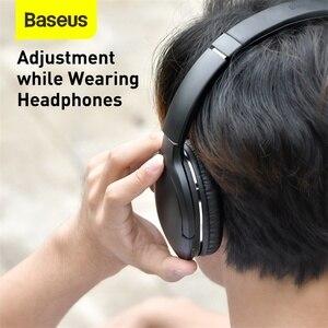 Image 4 - Baseus D02 Pro Wireless Headphones Bluetooth Earphones Flexible Adjustable Sport Headset Ear Buds Head Phone Earbuds for iphone
