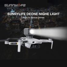 Sunnylife Night Light LED Flash Lighting Kit Searchlight Type-C Charger For DJI Mavic Mini 2 Mavic Air 2 Mavic 2 Drone Accessory