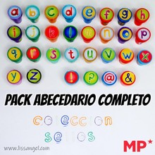 Complete Alphabet Pack - Alphabet Stamps with Kids Letters - MP