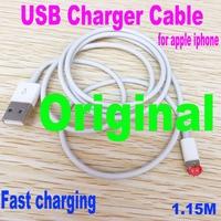 Cable USB Original de 100cm de longitud para iPhone X, 5, 5S, 5C, SE, 6, 6S, 7, 8 Plus, 11, XR, XS, carga rápida, cargador de línea de sincronización de datos