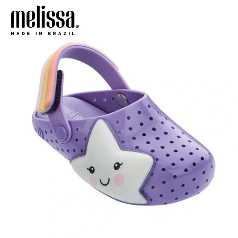 Mini Melissa Boyes Girl Jelly Shoes Beach Sandals 2020 Baby Shoes Melissa Beach Sandals Kids Princess Shoes