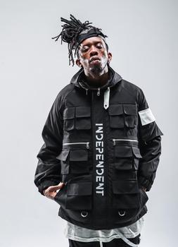 VFIVEUNFOUR Multi Pockets Europe High Street Warm Jacket Hip Hop Winter Jacket Men Coat Fashion 2019 Oversize Casual Jackets