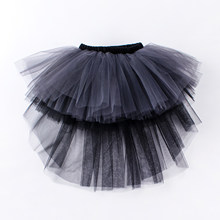 New Swallow Tail Girl Long Tutu Skirt Lovely Princess Girls Birthday Party Skirts Photos Ball Gown costume Kid Party Clothing