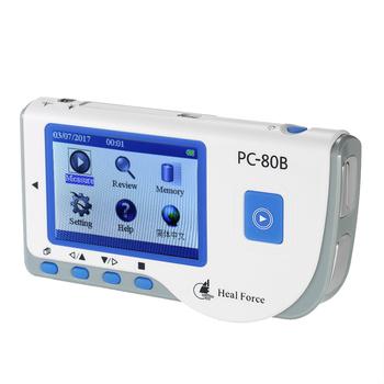 Heal Force Monitor pracy serca medyczny Monitor EKG EKG Monitor EKG z kablem USB + elektroda samoprzylepna + przewody przyłączeniowe tanie i dobre opinie Z Chin Kontynentalnych Medical ECG EKG Monitor Elektroniczne urządzenie do pomiaru tętna DO NADGARSTKA