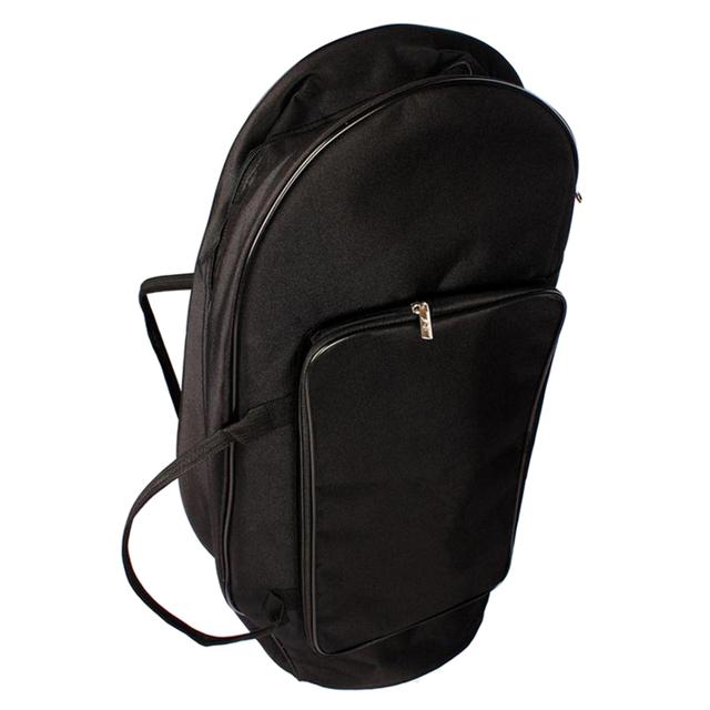 Przenośny torba koncertowa dla Tenor styl róg Tuba z regulowany plecak pasy (czarny)