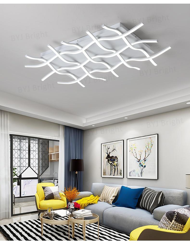 Hd0ca6d69779f4c788e19d0d2f223e751W Homelight | Modern Floor Lamps | Creative Modern LED Ceiling Lights For Living Room Bedroom Kitchen Black/White Deco Ceiling Lamp Indoor Home Lighting Fixtures 001
