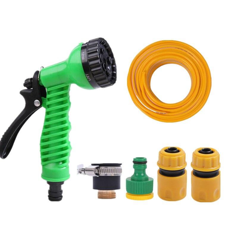Schnelles Verschiffen 7 Funktion Bewässerung Sprinkler Kopf Mit 5m Garten Schlauch Home Garten Spray Blume Beregnung Wasser Pistole